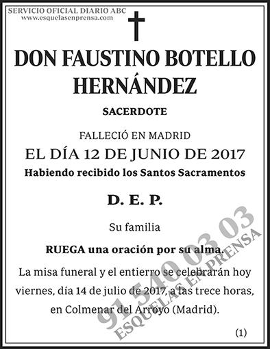 Faustino Botello Hernández